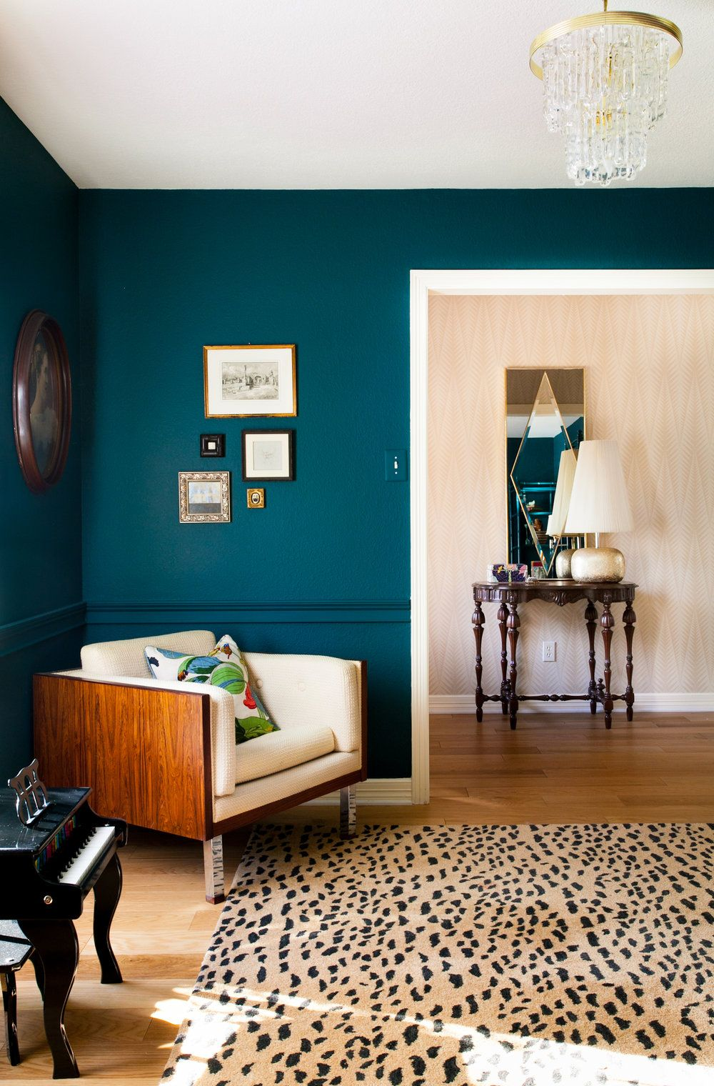 How To Decorate With Jewel Tones Teal Living Room Decor Home