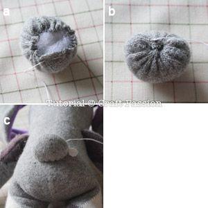 Como Fazer Coelhinho De Meia Passo A Passo Com Imagens Meia De