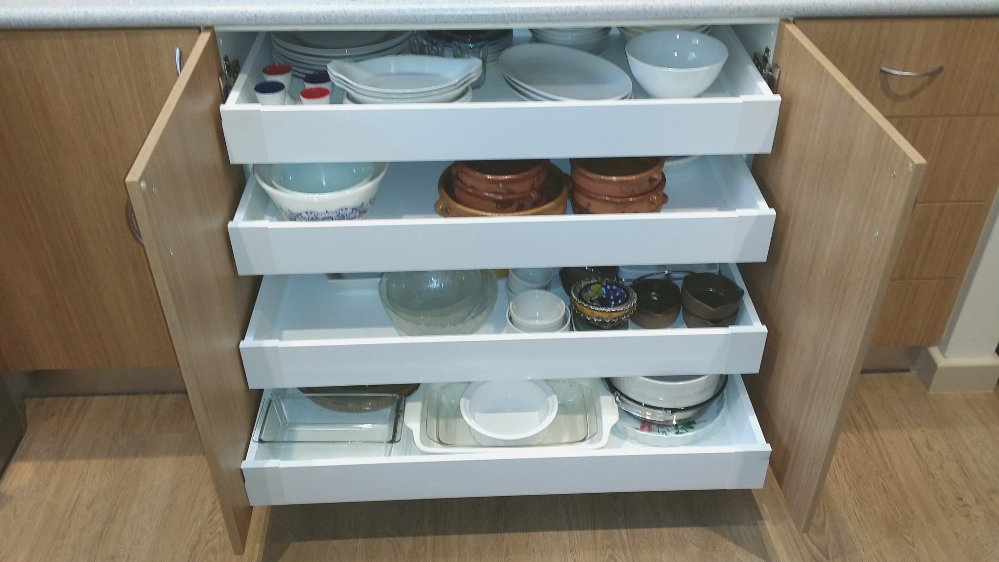 Pull Out Drawers for Kitchen Cabinets - metal pull out drawers for ...
