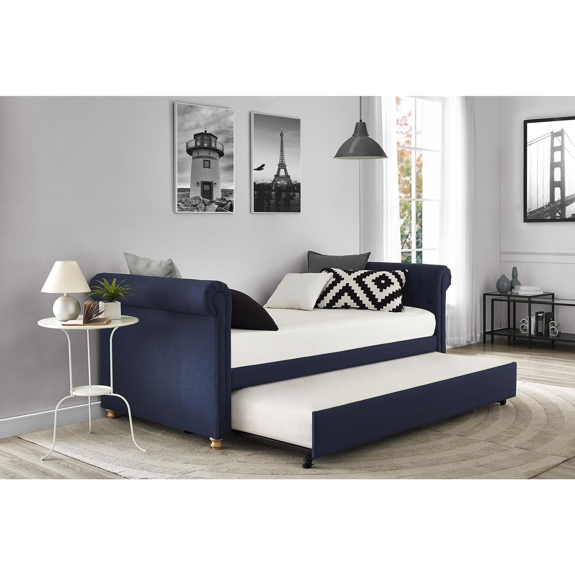 Overstock Com Online Shopping Bedding Furniture Electronics Jewelry Clothing More Upholstered Daybed Daybed With Trundle Daybed