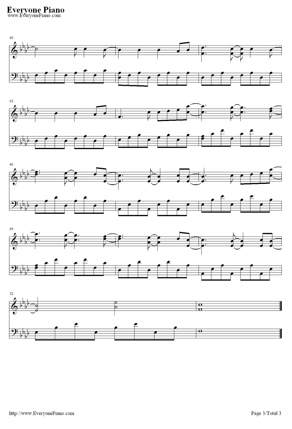 john legend you and i piano sheet music pdf