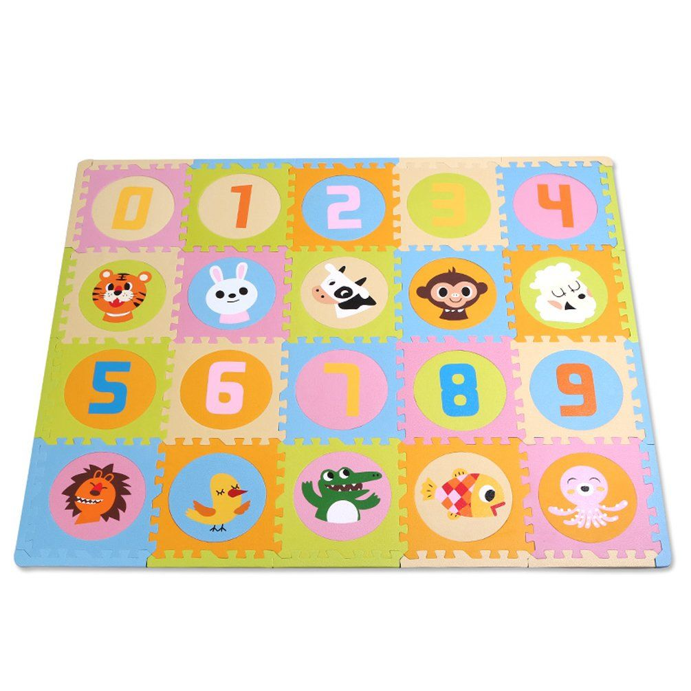 Large Soft Foam Eva Floor Mat Jigsaw Tiles Alphabet Kids Babies