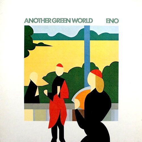 Filling In The Blanks Of A Cryptic Brian Eno Album Cover Another Green World Album Cover Art Album Art