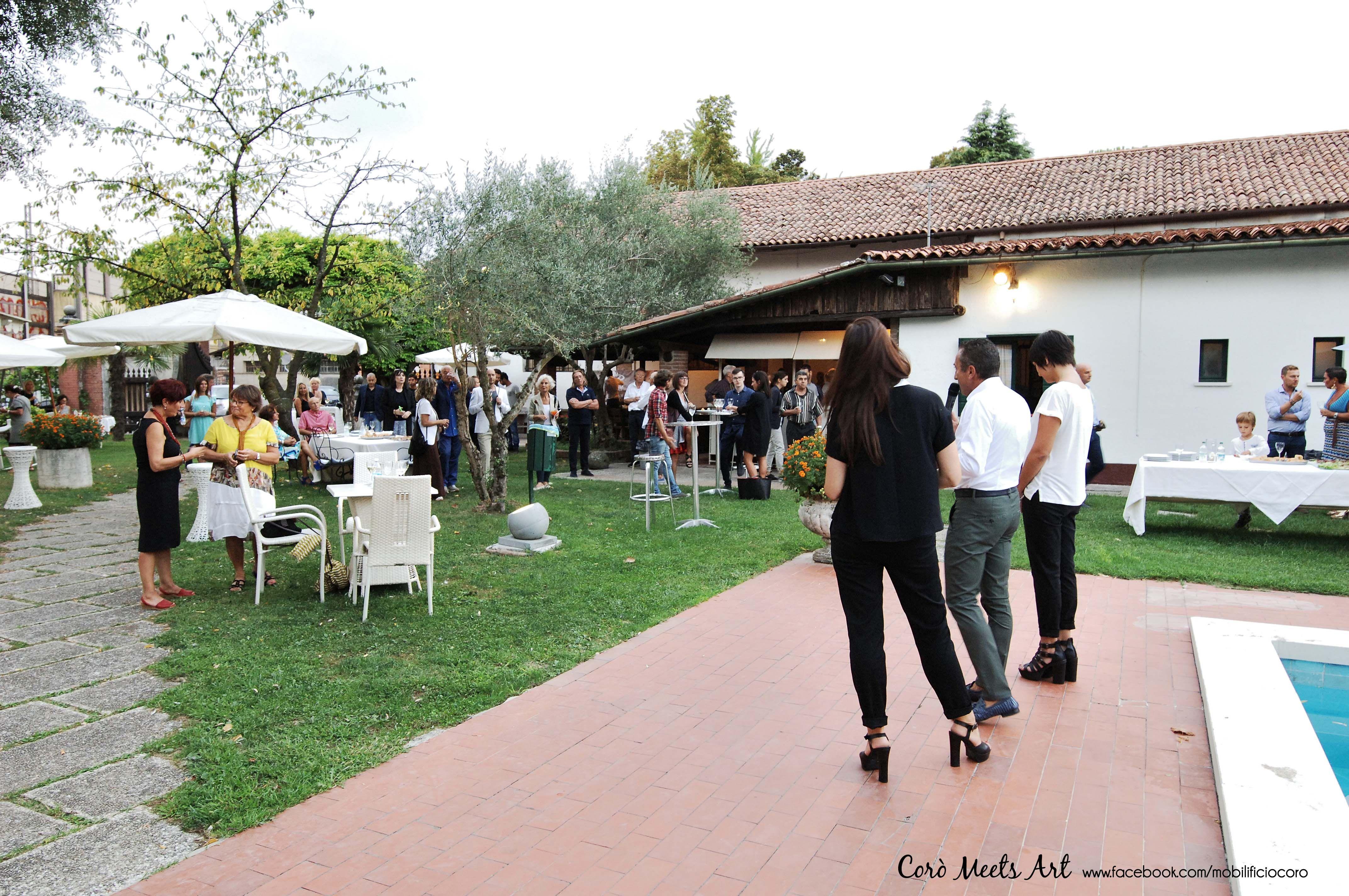Coro Meets Art Prima Edizione Presso Mobilificio Coro Via Caltana