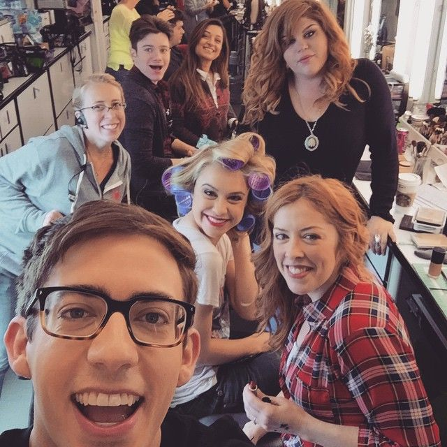 kevinmchale Last make-up! Hot damn I'm gonna miss seeing these beautiful faces every day.
