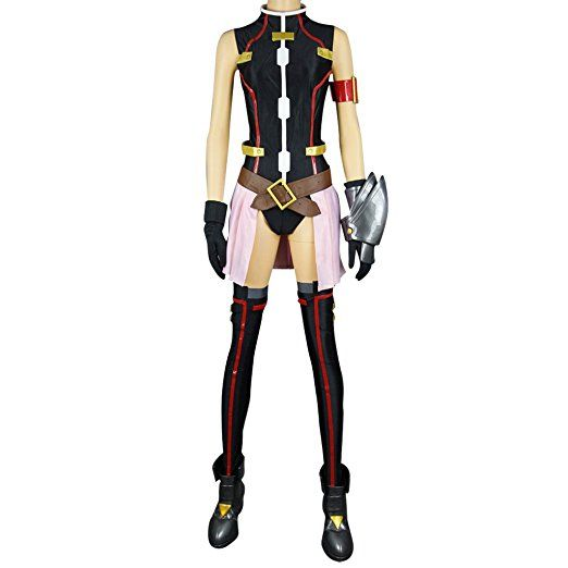 Magical Girl Lyrical Nanoha Cosplay Fate Barrier jacket 1st Size XX
