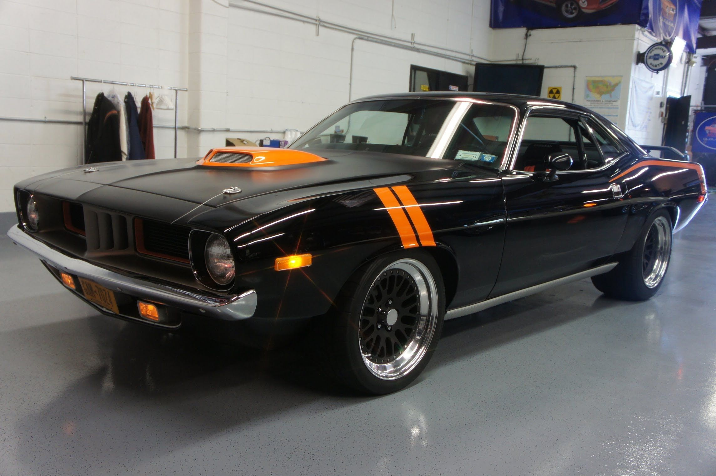 1973 plymouth barracuda pro touring resto mod for sale nascar 462 motor