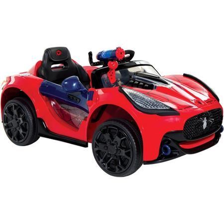 Battery Powered Ride On Toys For Toddlers >> Spider Man Super Car 6 Volt Battery Powered Ride On Ultimate