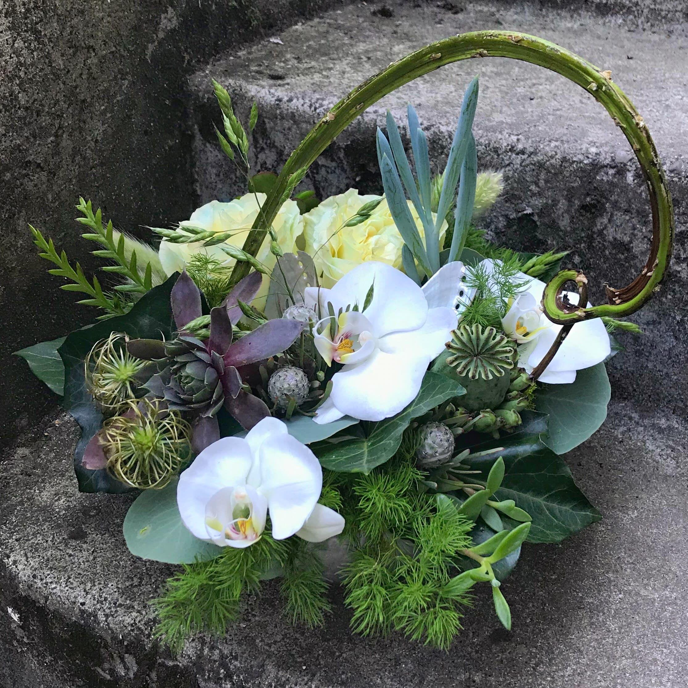 Medium Texture Bowl in Seattle, WA | Fiori Floral Design ...