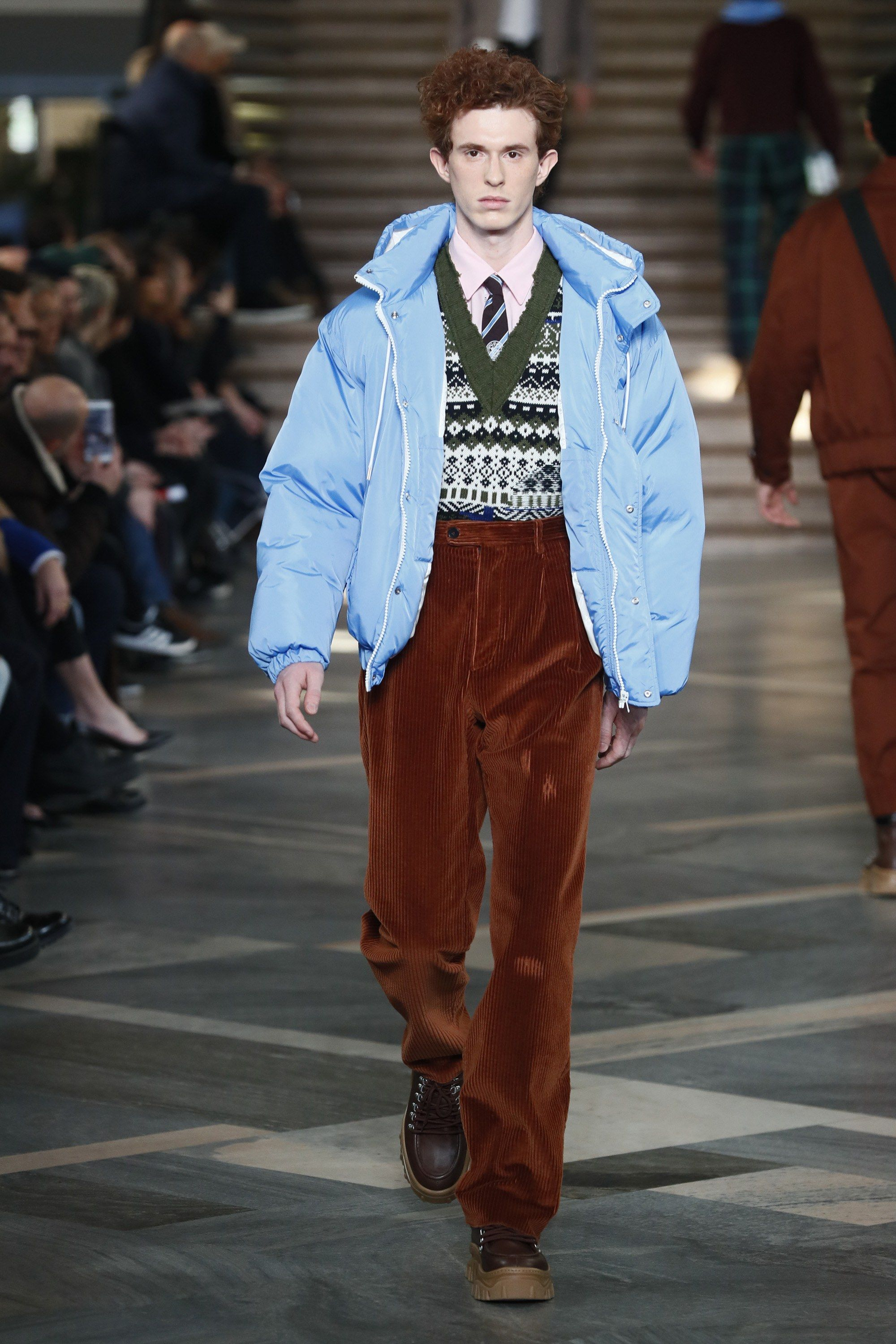 Fashion style Fall msgm runway for woman