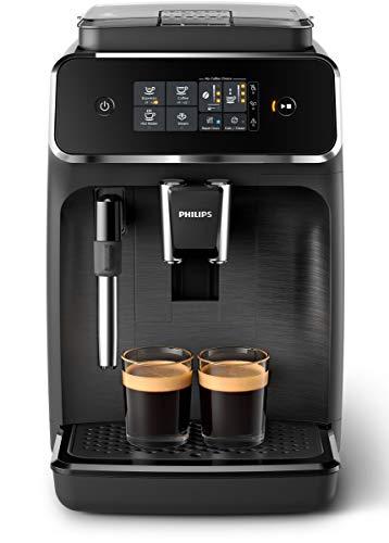 schwarz /Automatische Espressomaschine Saeco Minuto/
