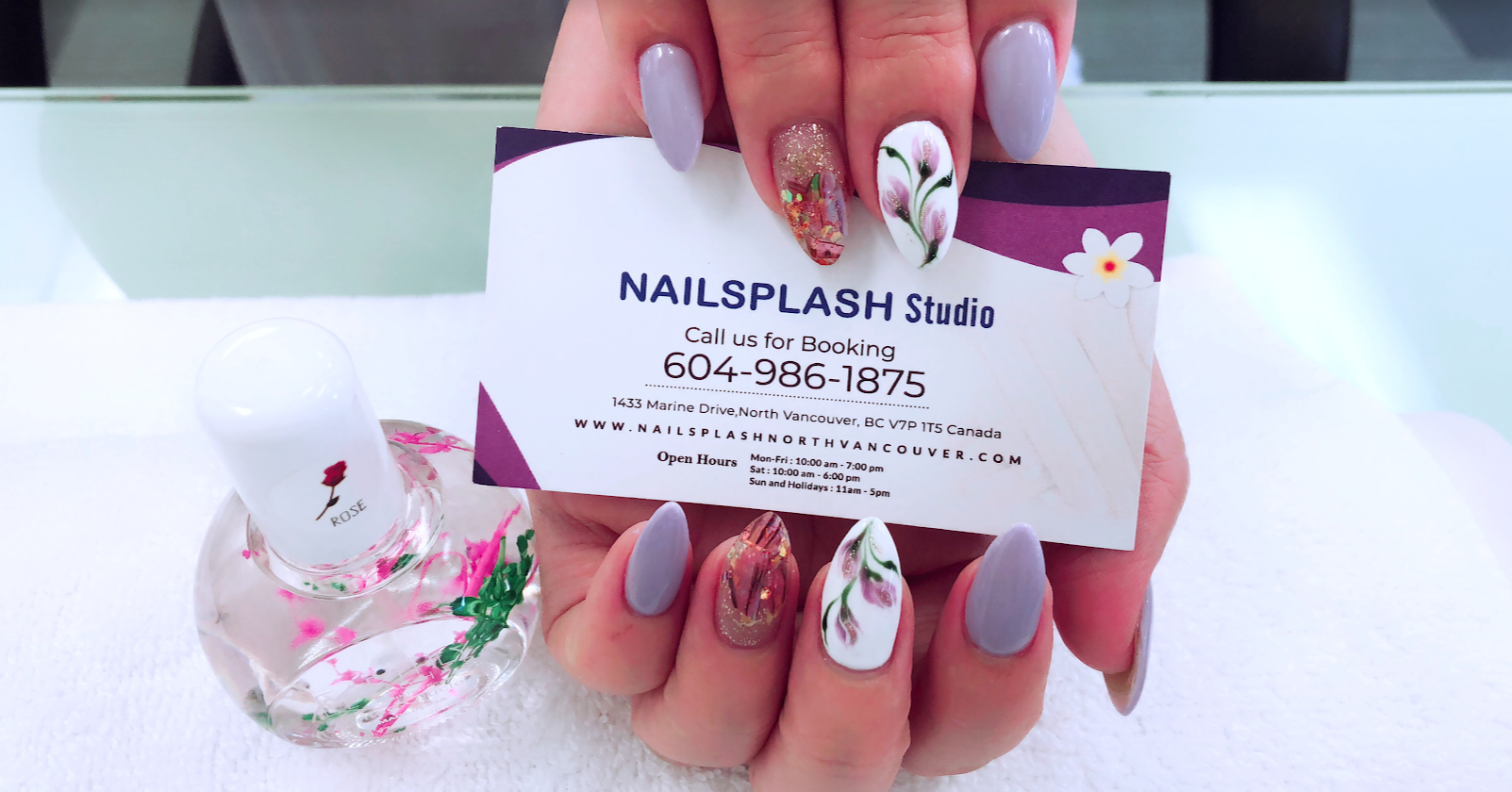 Nail Salons Open Past 7