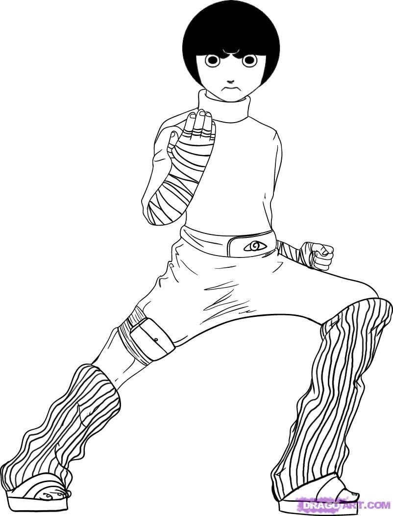 Naruto Coloring pages | Anime & Manga Coloring Pages | Pinterest