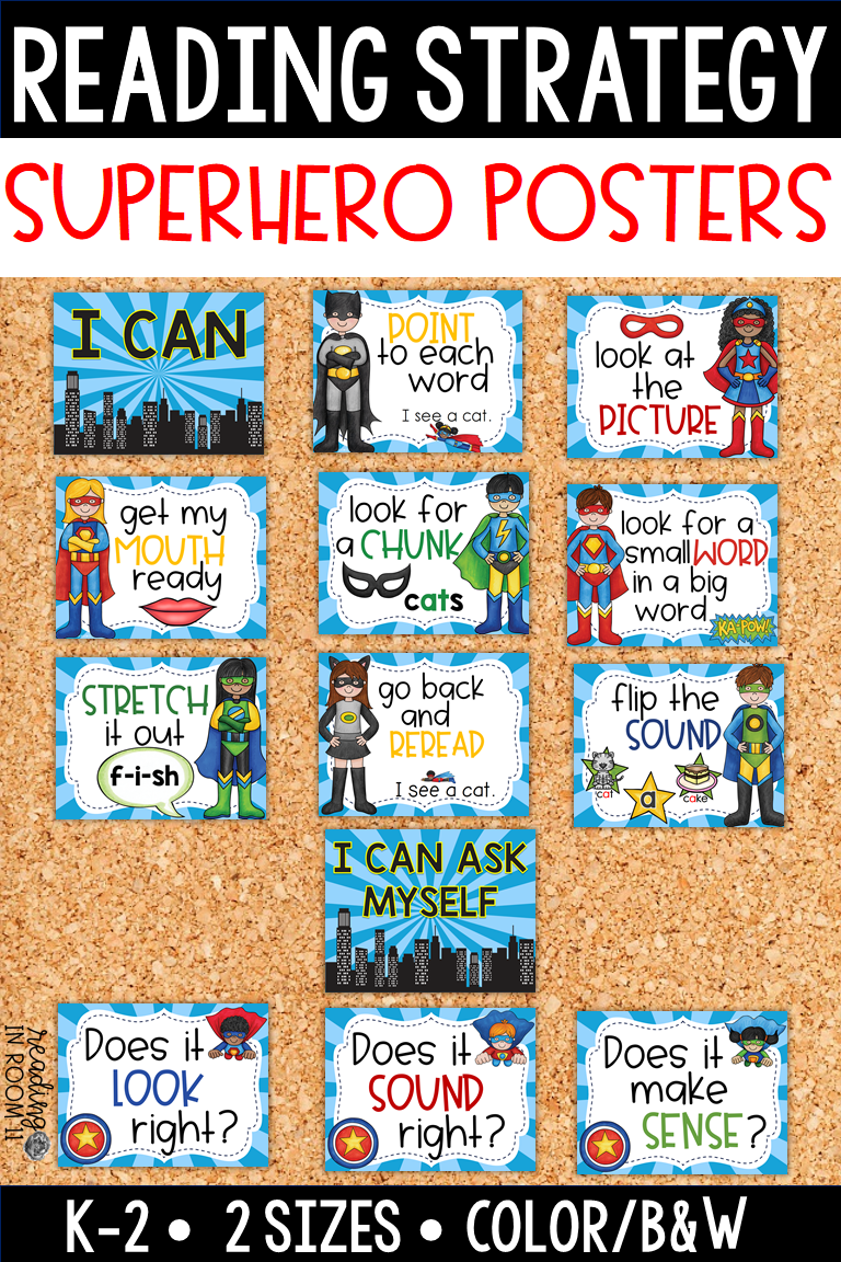 These Superhero Reading Strategy Posters Are Great To Incorporate Into Your Guided Reading Groups Reading Strategies Posters Reading Strategies Guided Reading [ 1152 x 768 Pixel ]