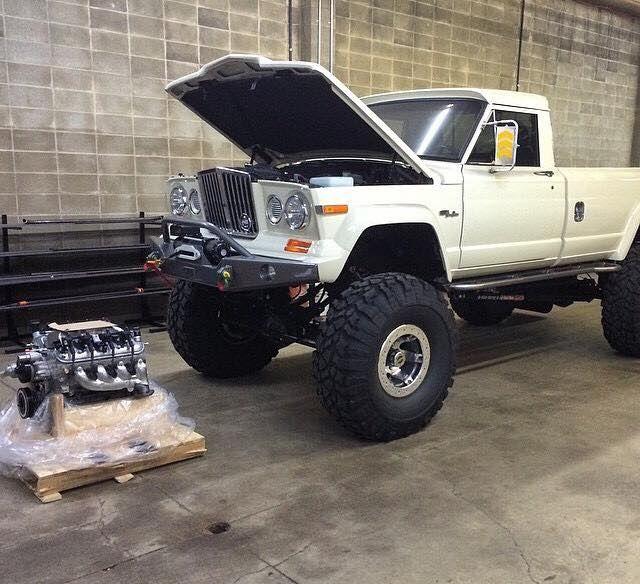 Jeep Pickup Getting An Ls Transplant Jeep Truck Trucks