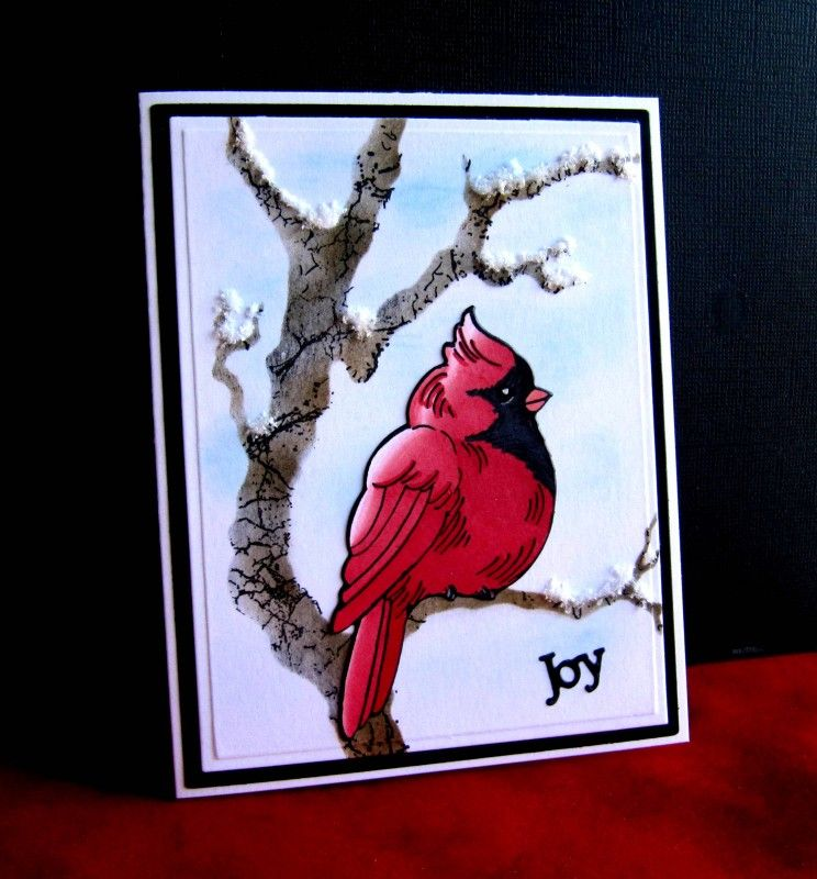 Splitcoaststampers FOOGallery - F4A356, MIX203  Christmas Cardinal