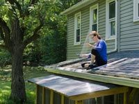 AARP - 10 Easy Do-It-Yourself Home Improvement Fixes - By investing $100 (or even less) in these outdoor fixes, your home will look better, cost less to maintain and sell for more