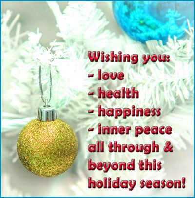 Christmas health quotes