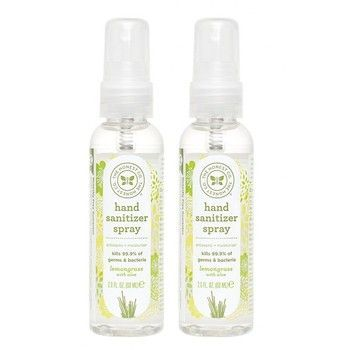 The Honest Company Hand Sanitizer Spray Lemongrass 1x2 Oz