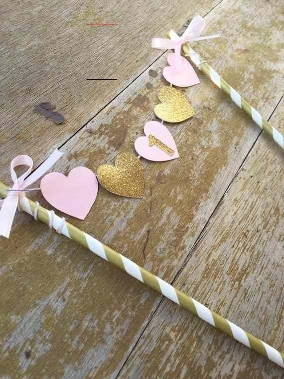 Photo of Kuchen Banner – Pink Gold Kuchen Banner – ein Banner – Shabby Chic Banner – Gold…