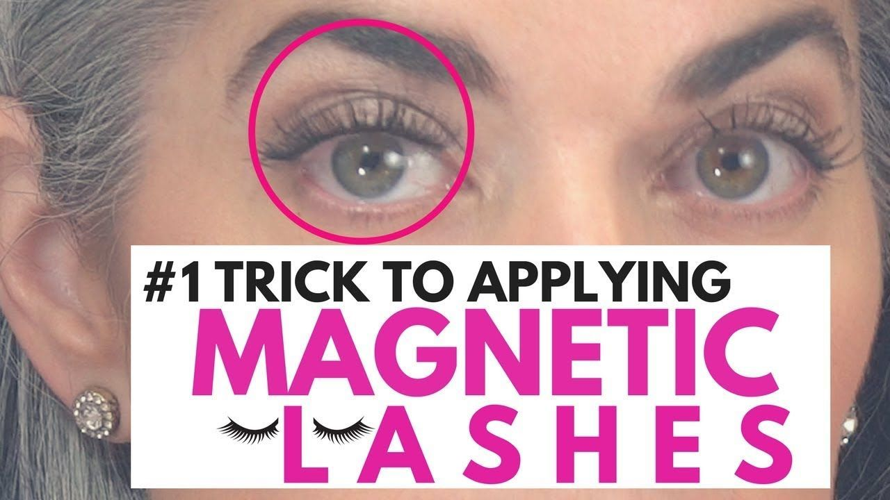 fb9e0cce159 1 Trick TO APPLYING MAGNETIC LASHES | Nikol Johnson - YouTube ...