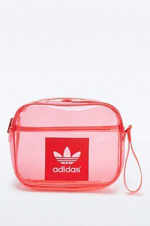 Airliner ClutchBags Red Transparent Adidas Originals m0wnvON8