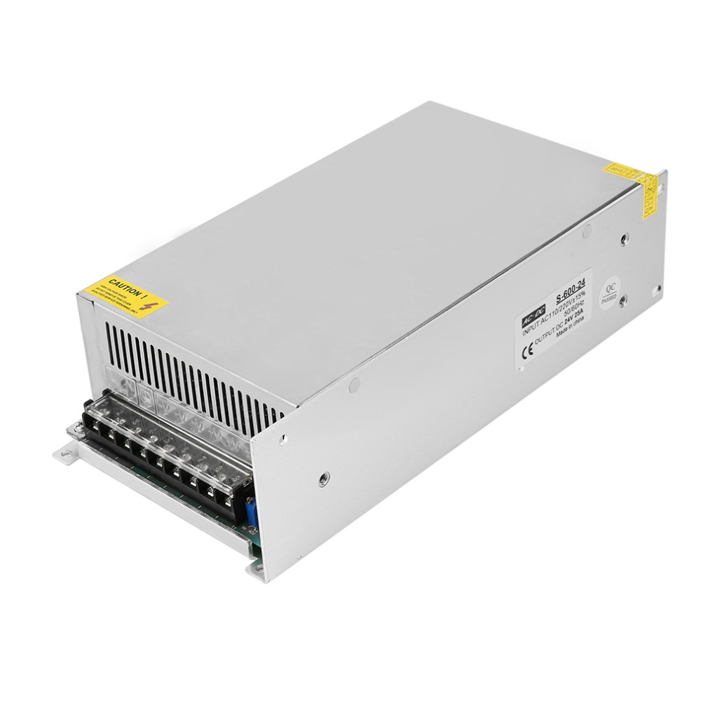 43.77$  Watch now - http://ali4cp.shopchina.info/go.php?t=32811587482 - 24V 25A Switching power supply Driver For LED Light Strip Display AC100-240V 50/60Hz Excellent For LED lightening Free Shipping  #magazine