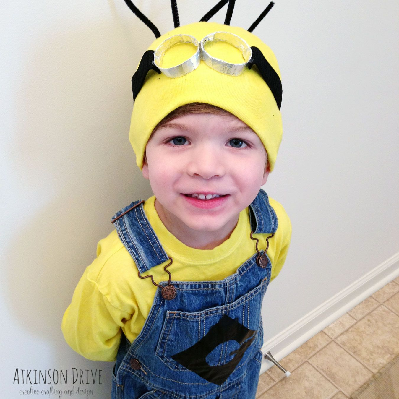 No-Sew Despicable Me Minion Halloween Costume | Shark costumes ...