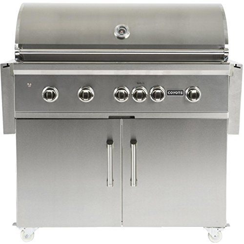 Coyote Sseries 42inch 5burner Freestanding Natural Gas Grill With Rapidsear Infrared Burner Rotisserie Click Gas Grill Propane Gas Grill Natural Gas Grill
