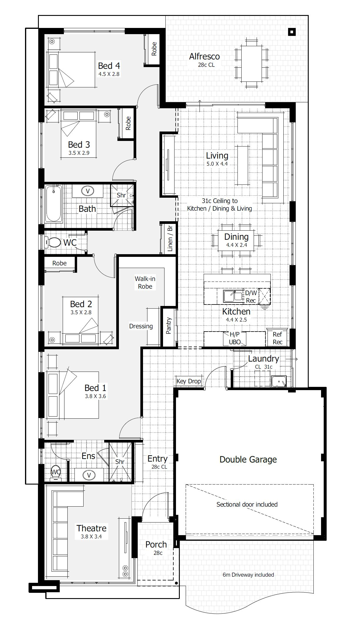 House Designs New Home Designs Perth Homebuyers Centre Sims House Plans One Storey House New House Plans