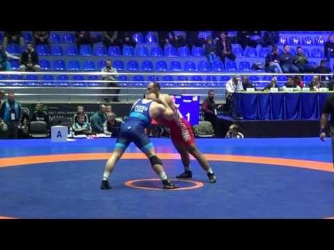 Odikadze (Champion-GEO) - Kyle Snyder (Titan-Mercury - USA) World Wrestling Clubs Cup 2016