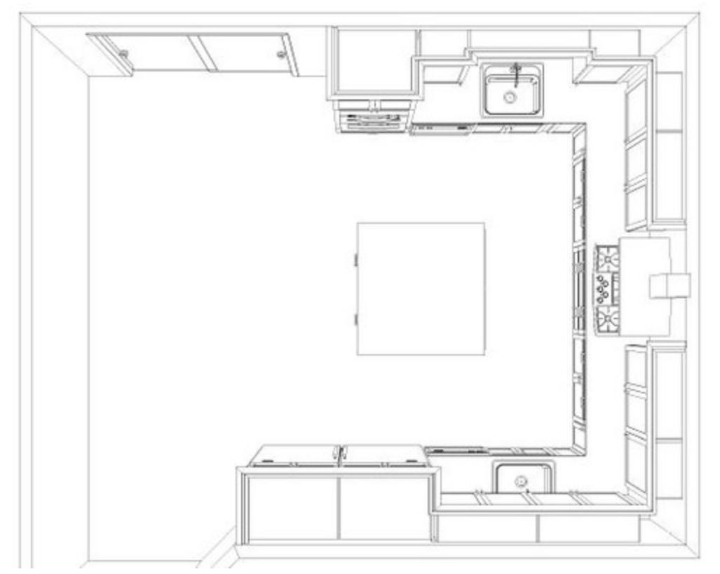 Kosher kitchen design   Kitchen layout plans, Kosher kitchen ...