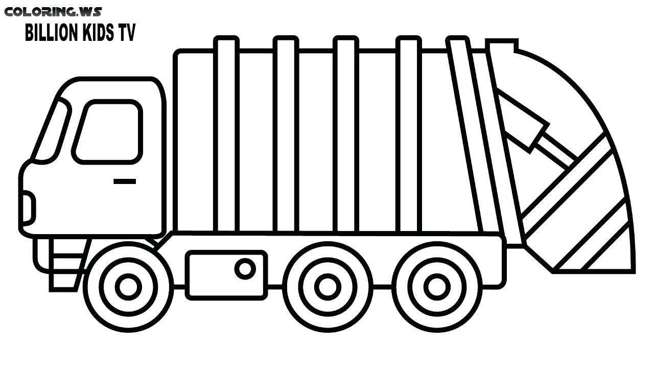 Awesome Coloring Page Dump Truck That You Must Know You Re In