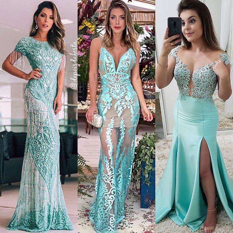 """Moda Festa por Jully Hellen no Instagram: """"Qual vestido você"""