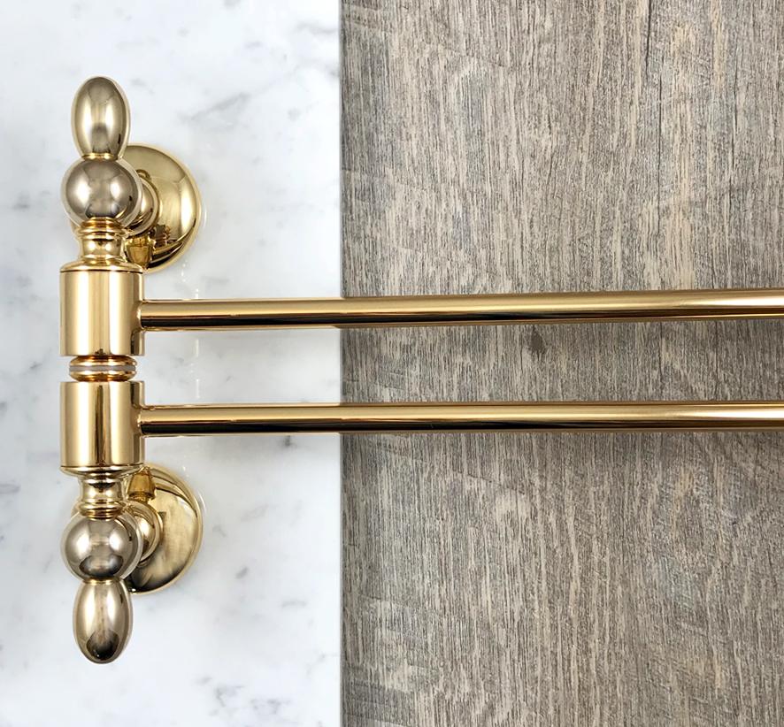 Accessori Bagno Oro.Pin Su Gold Passion For Bathroom Passione Oro Per Il Bagno