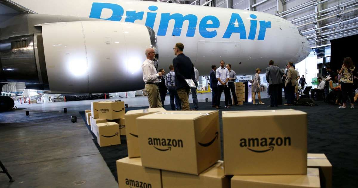 Amazon Starts To Roll Out Free One Day Delivery For Prime Members Air Cargo Amazon Prime Day Atlas Air