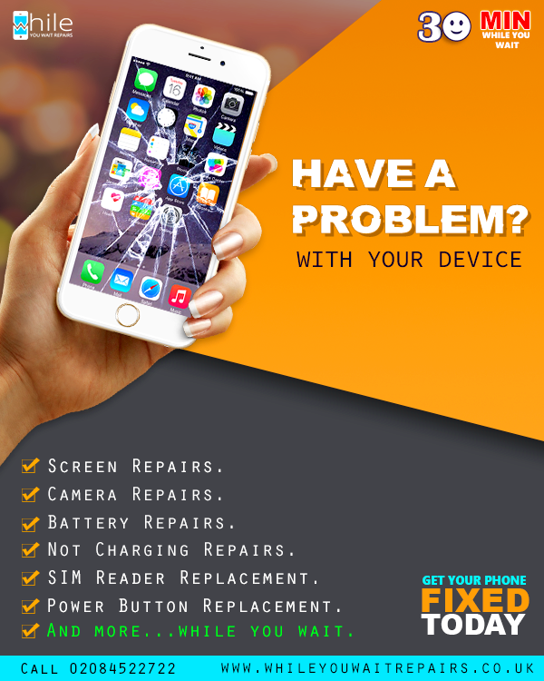 Broken Phone It S Okay We Are Here To Fix It Visit Our Website Book Your Slot Our Address While You Wait Repairs Ajp Busi Repair Cell Phone Store Phone