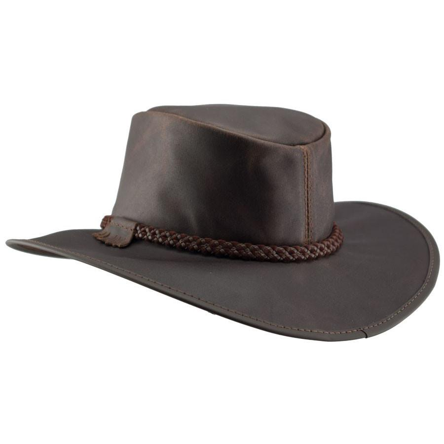 Head N Home Crusher Outback Leather Hat Up To Xxl Brownbrown 2x Large Leather Hats Leather Mens Leather Hats