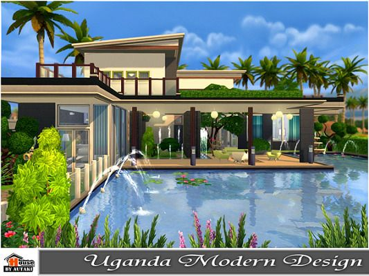 Sims 4 Home Design galerry home design the sims 4 Find This Pin And More On Sims Uganda Modern Design House