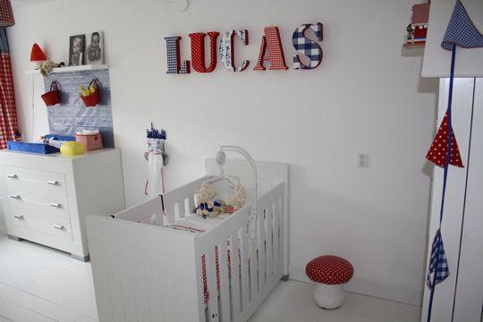 Letras decorativas para bebs Habitaciones bebes Letras y Bebe