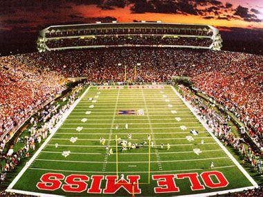 Top 10 Football Stadiums Ole Miss Football Ole Miss Ole Miss Game