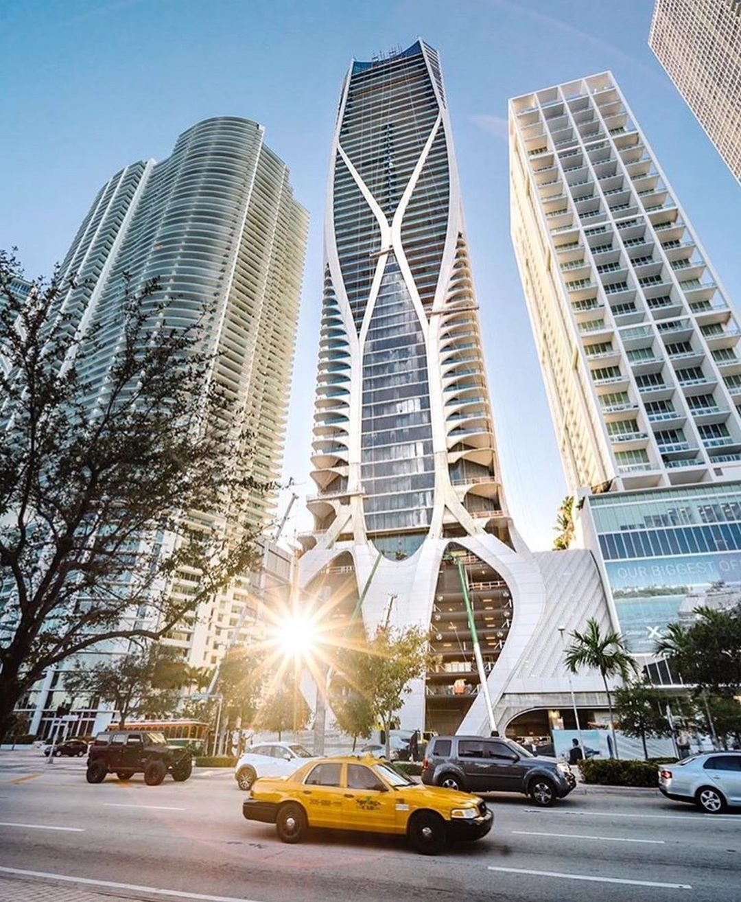 Zaha Hadid Architects On Instagram Onethousandmuseum Residential Tower In Miami Has Received Awards For Excellence In Two Categories From The Council On Tall