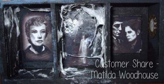 Sunday Customer Share – Matilda Woodhouse   Samantha K Gifts - Dark shadows house 1960's TV show