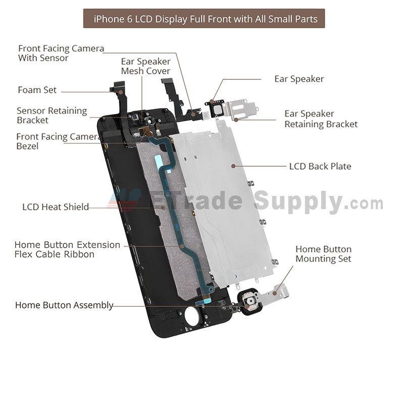 Iphone  Plus Parts Diagram