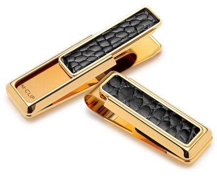 New Yorker – Gold with Black Alligator www.gentlemansedge.com Visit our site for a full line of mens accessories, leather goods, office, executive, smoking, and  travels essentials.