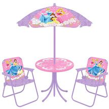 Disney Princess Folding Chair Patio Set 2 Chairs Table