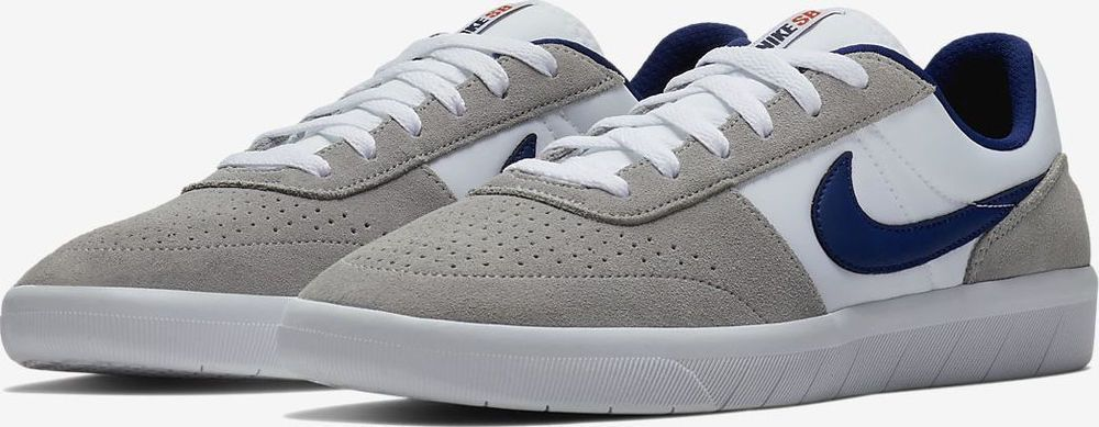 e9cb9ad3b6638 Nike SB Team Classic Mens Skateboarding Shoes 12 Wolf Grey Void Blue AH3360  002 #Nike #Skateboarding