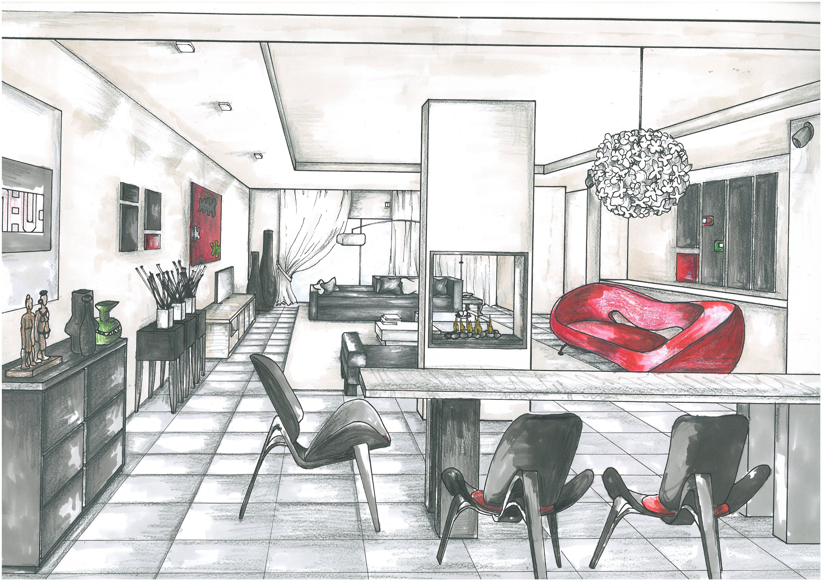 reception perspective drawing - Google Search | SKETCHES | Pinterest ...