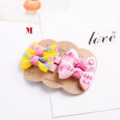 4PCS/lot Newly Design Grosgrain Baby Small Bow Hairpins Girls Hair Accessories Children Hairgrips Kids Hair Clips Mini Headwear #kidshairaccessories