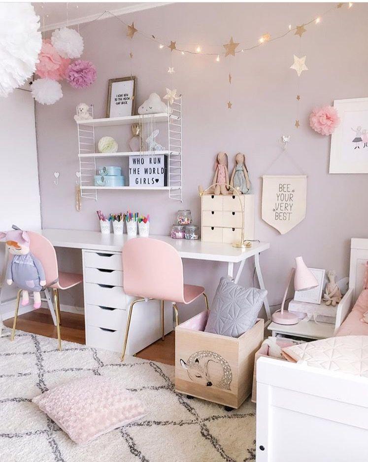 Chambre rose et gris DIY✏ Pinterest Shelves, Legs and Room
